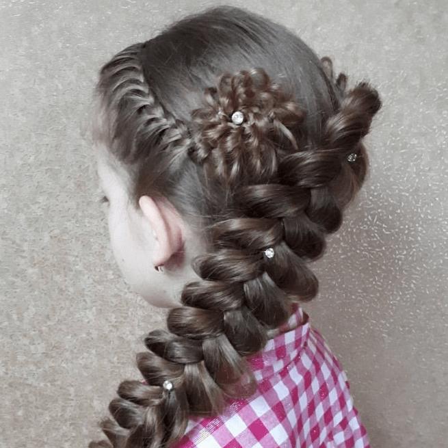 без названия 15 1 - Греческая коса по диагонали
