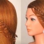 Сделать прическу самой ажурное плетение кос