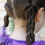 детские хвостики подстригать ребенка