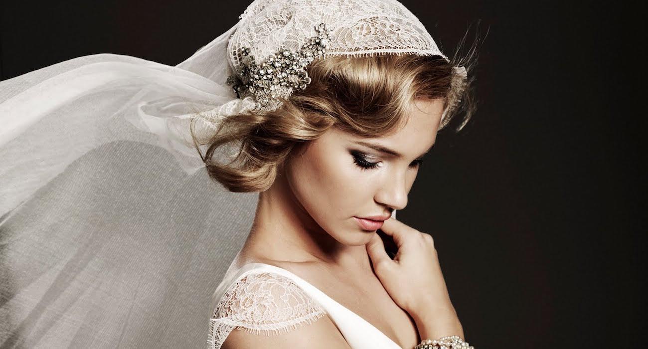 как подобрать фату под свадебную прическу