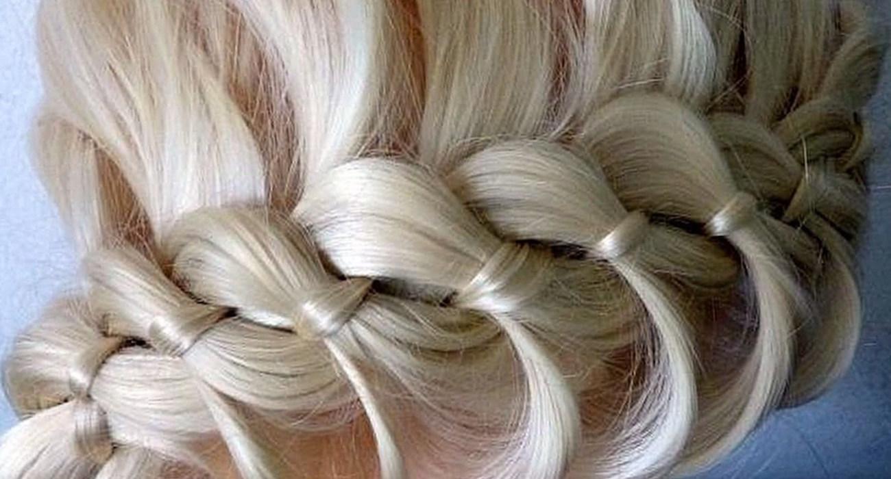 Заплести косы коса из 4 прядей