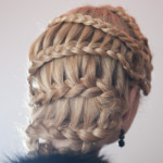 Школа парикмахеров Москва плетение косы зигзагом