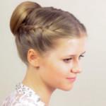 как плести косы прическа для девочек в школу