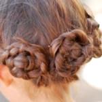 прическа для девочки из кос