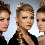 прически женские прически с сетками Плетение косичек курсы