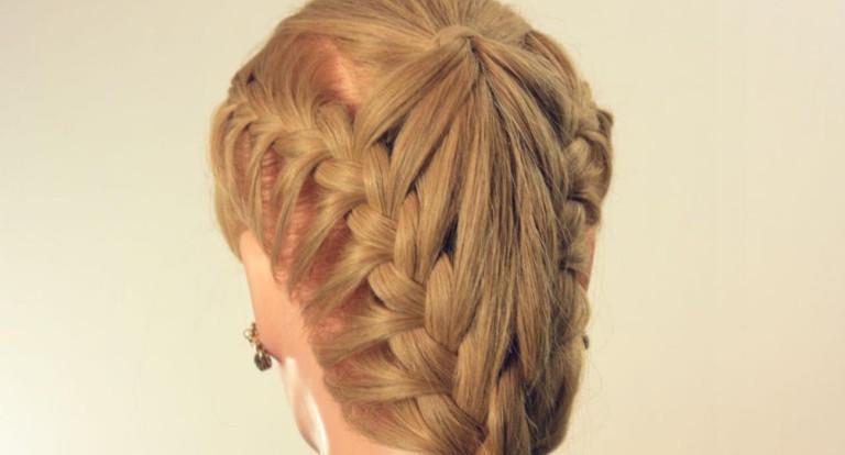 Косы для длинных волос на каждый день пошагово