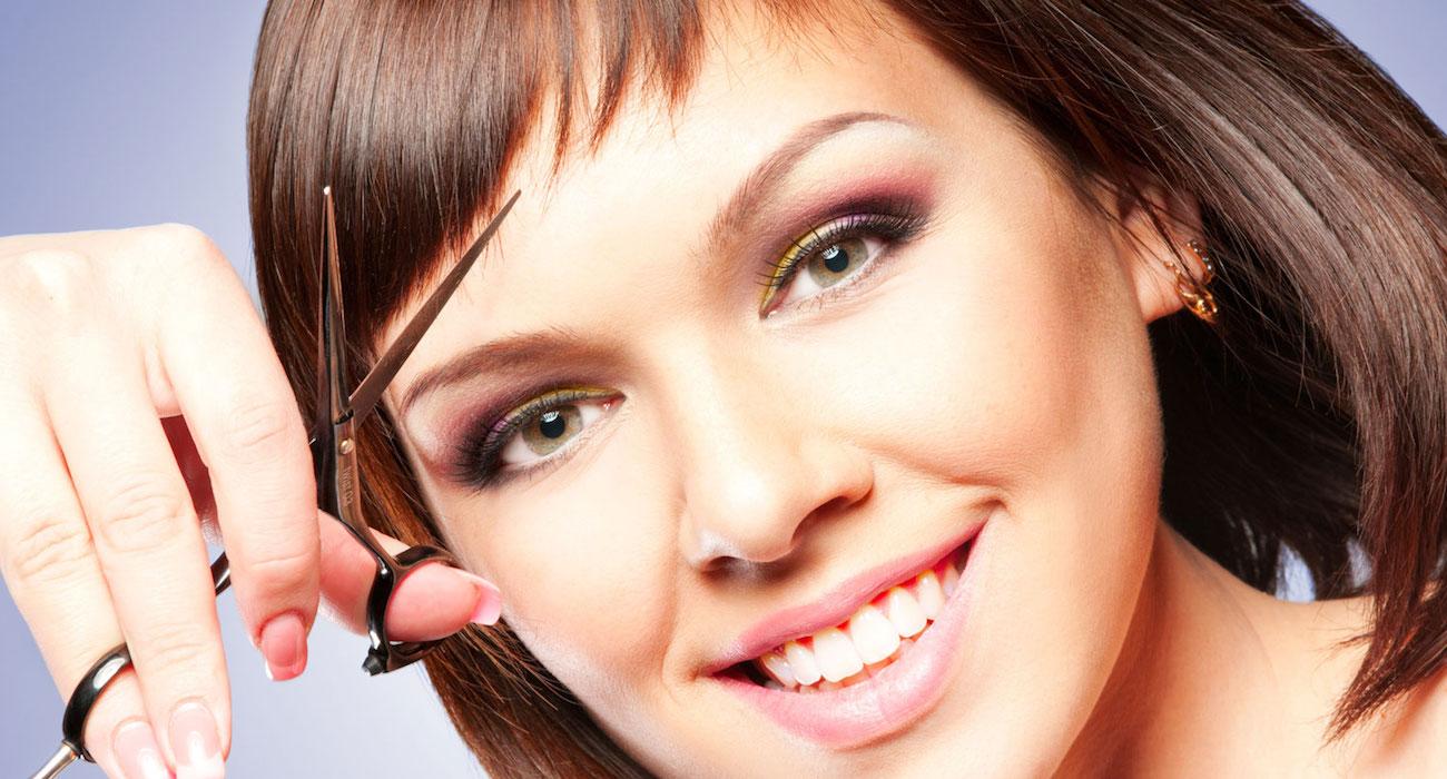 «Овальная форма лица» Подбираем стрижки и макияж 8