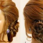 свободное плетение Плетение волос прически