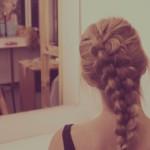 Объемная 3D коса на средние волосы