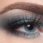 airy blue макияж глаз