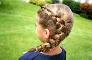 коса на 1 сентября