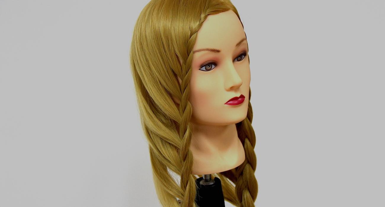коса свободная на длинные волосы