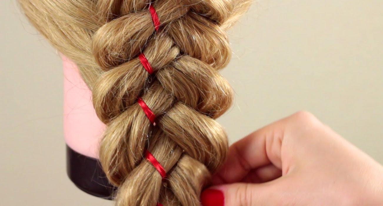 ленты для плетения кос