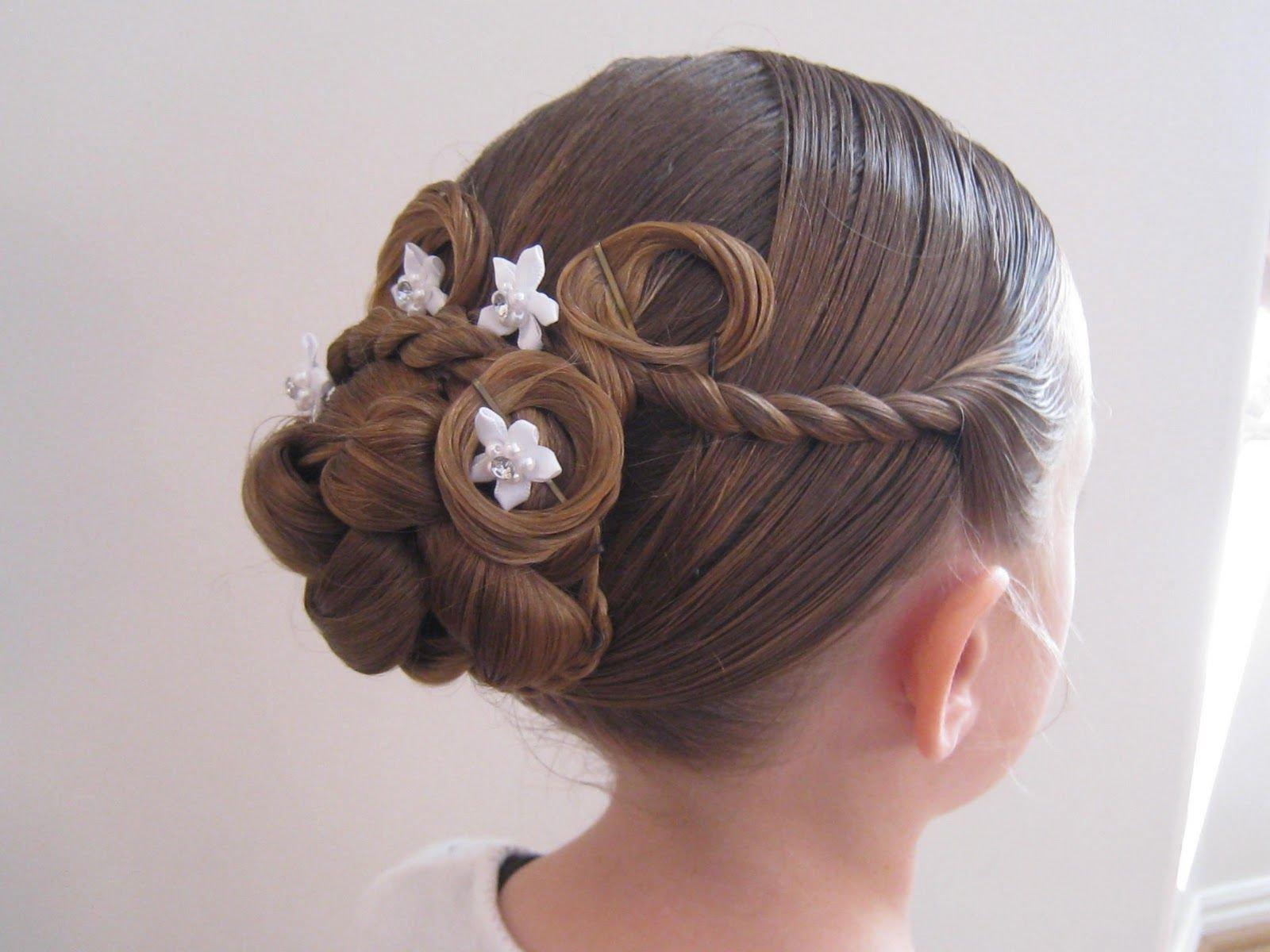 Детские причёски для девочек на 1 сентября фото