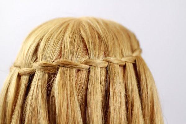 водопад из волос