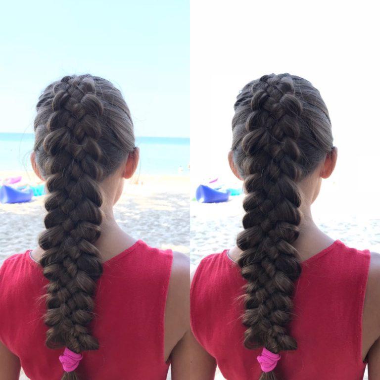 пятипрядная коса из 5