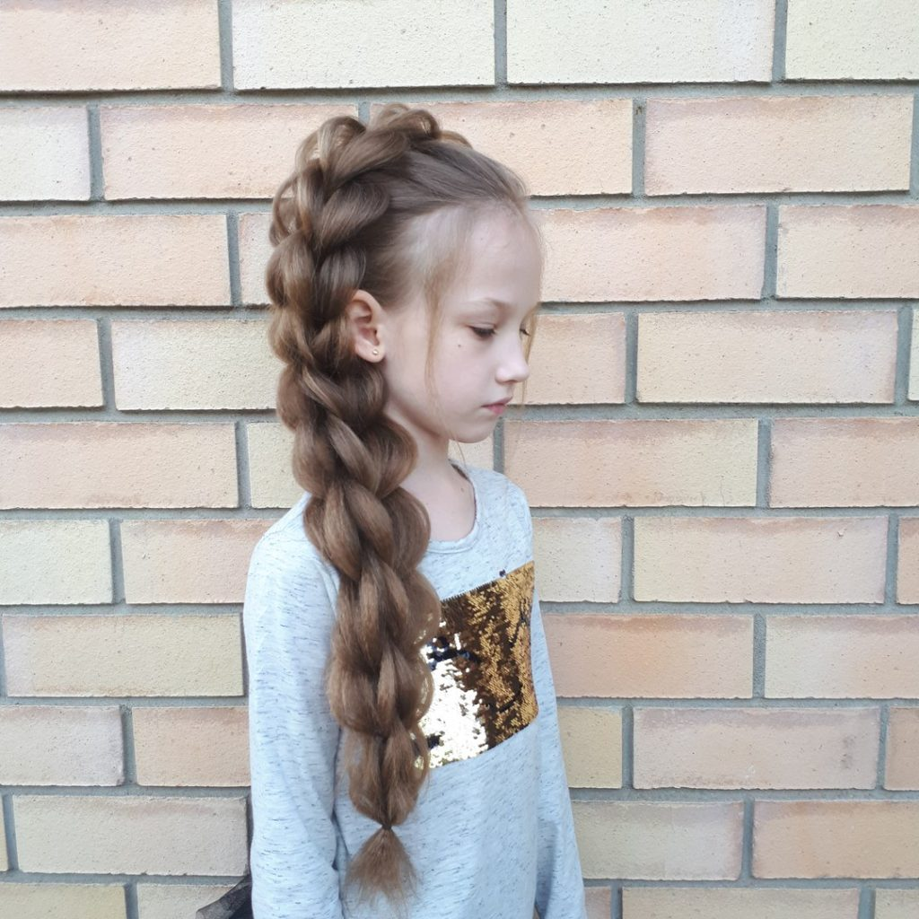 прически из кос на длинные волосы