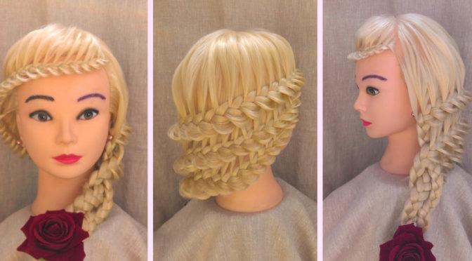Прически на длинные волосы. Работы учеников. Фото причесок.