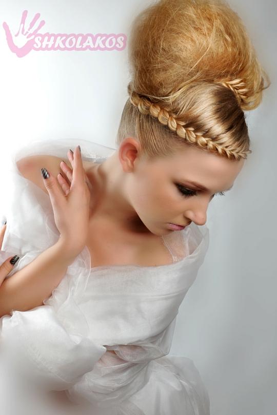 свадебные прически на волосы